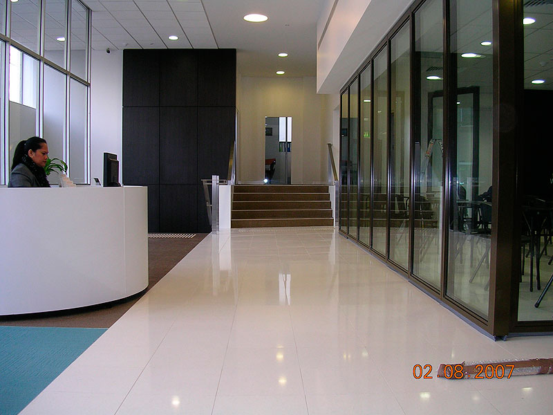 Foyer Stairs Qld : R ten plus non slip surface treatment